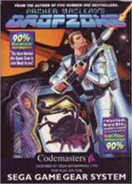 Box cover for Dropzone on the Sega Game Gear.