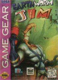 Box cover for Earthworm Jim on the Sega Game Gear.