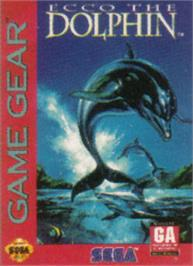 Box cover for Ecco the Dolphin on the Sega Game Gear.