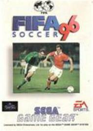 Box cover for FIFA 96 on the Sega Game Gear.