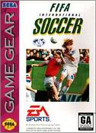 Box cover for FIFA International Soccer on the Sega Game Gear.