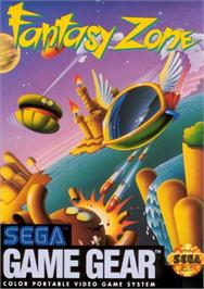 Box cover for Fantasy Zone on the Sega Game Gear.