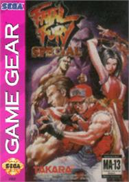 Box cover for Fatal Fury Special / Garou Densetsu Special on the Sega Game Gear.