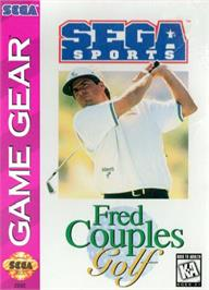 Box cover for Fred Couples Golf on the Sega Game Gear.