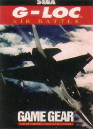 Box cover for G-Loc Air Battle on the Sega Game Gear.