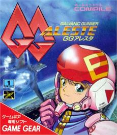 Box cover for GG Aleste on the Sega Game Gear.