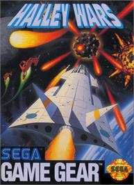 Box cover for Halley Wars on the Sega Game Gear.