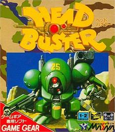 Box cover for Head Buster on the Sega Game Gear.