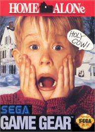 Box cover for Home Alone on the Sega Game Gear.