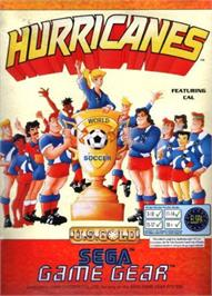 Box cover for Hurricanes on the Sega Game Gear.