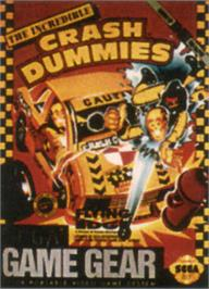 Box cover for Incredible Crash Dummies on the Sega Game Gear.