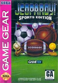 Box cover for Jeopardy! Sports Edition on the Sega Game Gear.