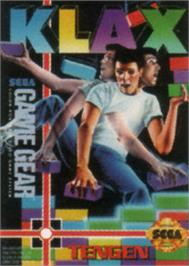 Box cover for Klax on the Sega Game Gear.