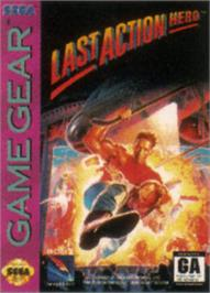 Box cover for Last Action Hero on the Sega Game Gear.