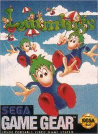 Box cover for Lemmings on the Sega Game Gear.