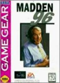 Box cover for Madden NFL '96 on the Sega Game Gear.