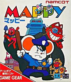 Box cover for Mappy on the Sega Game Gear.