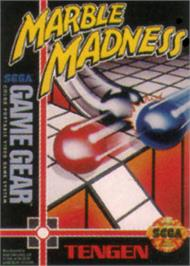 Box cover for Marble Madness on the Sega Game Gear.