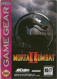 Box cover for Mortal Kombat II on the Sega Game Gear.
