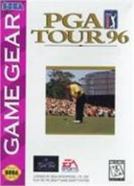Box cover for PGA Tour Golf '96 on the Sega Game Gear.