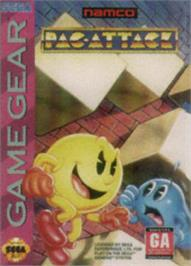 Box cover for Pac-Attack on the Sega Game Gear.