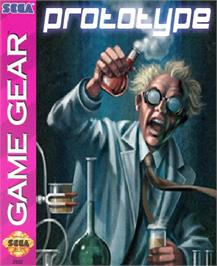 Box cover for Pac-in-Time on the Sega Game Gear.