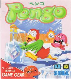 Box cover for Pengo on the Sega Game Gear.