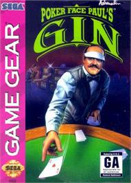 Box cover for Poker Face Paul's Gin on the Sega Game Gear.