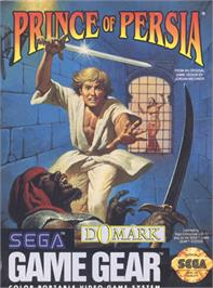Box cover for Prince of Persia on the Sega Game Gear.