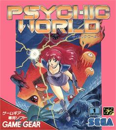 Box cover for Psychic World on the Sega Game Gear.