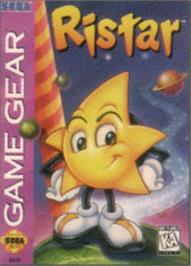 Box cover for Ristar: The Shooting Star on the Sega Game Gear.