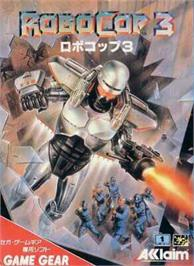Box cover for Robocop 3 on the Sega Game Gear.