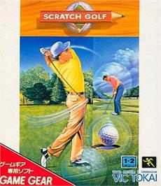 Box cover for Scratch Golf on the Sega Game Gear.