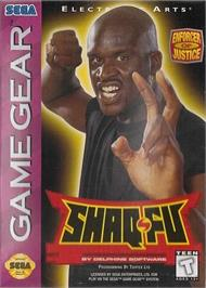 Box cover for Shaq Fu on the Sega Game Gear.