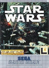 Box cover for Star Wars on the Sega Game Gear.
