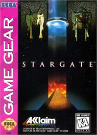 Box cover for Stargate on the Sega Game Gear.