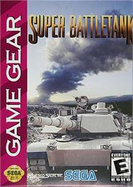 Box cover for Super Battletank: War in the Gulf on the Sega Game Gear.