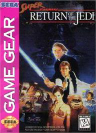 Box cover for Super Star Wars: Return of the Jedi on the Sega Game Gear.