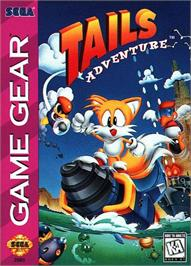 Box cover for Tails' Adventure on the Sega Game Gear.