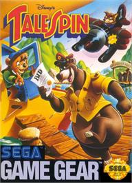 Box cover for TaleSpin on the Sega Game Gear.