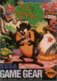 Box cover for Taz-Mania: The Search for the Lost Seabirds on the Sega Game Gear.