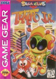 Box cover for Tempo Jr. on the Sega Game Gear.