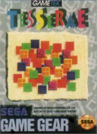 Box cover for Tesserae on the Sega Game Gear.