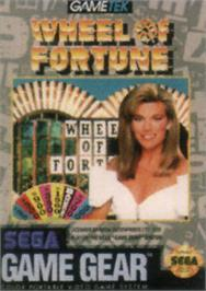 Box cover for Wheel Of Fortune: Featuring Vanna White on the Sega Game Gear.
