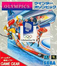 Box cover for Winter Olympics: Lillehammer '94 on the Sega Game Gear.