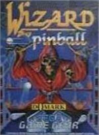 Box cover for Wizard Pinball on the Sega Game Gear.