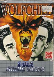 Box cover for Wolfchild on the Sega Game Gear.