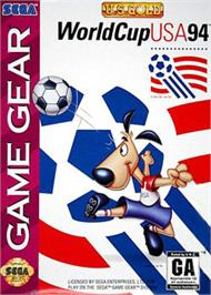 Box cover for World Cup USA '94 on the Sega Game Gear.