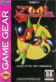 Box cover for Zool on the Sega Game Gear.