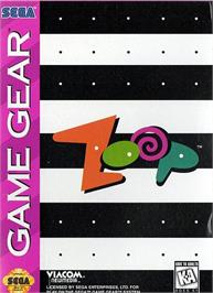 Box cover for Zoop on the Sega Game Gear.